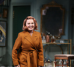 Kate Burton during Broadway Opening Night  curtain call for 'Present Laughter' at the St. James Theatre on April 5, 2017 in New York City.
