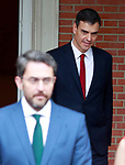 President of the Government of Spain Pedro Sanchez after the first Council of Ministers. June 8,2018. (ALTERPHOTOS/Acero)