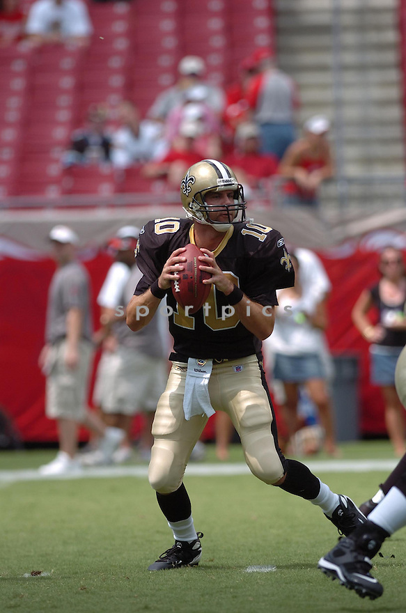 JAMIE MARTIN, of the New Orleans Saints in action during the Saints game against the Tampa Bay Buccaneers on September 16, 2007 in Tampa Bay, Florida...BUCCANEERS win 31-14..SportPics