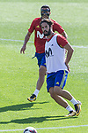 Pedro Rodriguez, Isco Alarcon during training of the spanish national football team in the city of football of Las Rozas in Madrid, Spain. August 30, 2017. (ALTERPHOTOS/Rodrigo Jimenez)<br /> of the spanish national football team in the city of football of Las Rozas in Madrid, Spain. August 30, 2017. (ALTERPHOTOS/Rodrigo Jimenez)