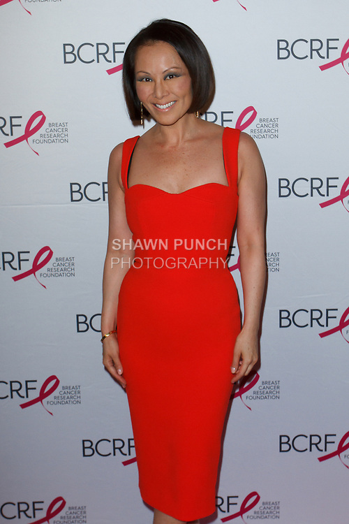 "Alina Cho attends The Breast Cancer Research Foundation ""Super Nova"" Hot Pink Party on May 12, 2017 at the Park Avenue Armory in New York City."