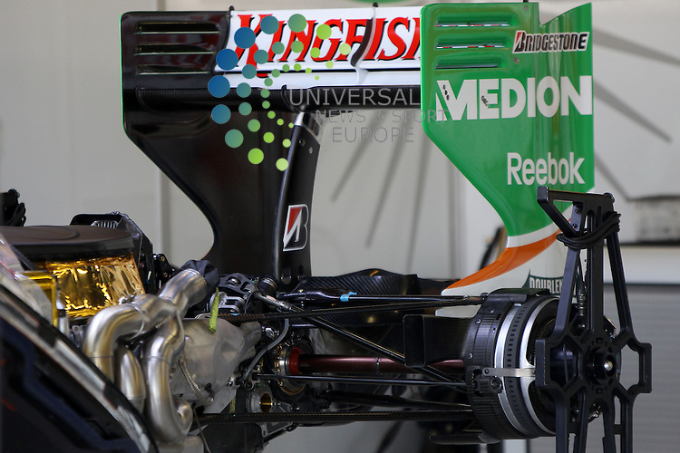 F1 GP of Australia, Melbourne 26. - 28. March 2010.Force India VJM03 - Mercedes Engine..Picture: Hasan Bratic/Universal News And Sport (Europe) 26 March 2010.