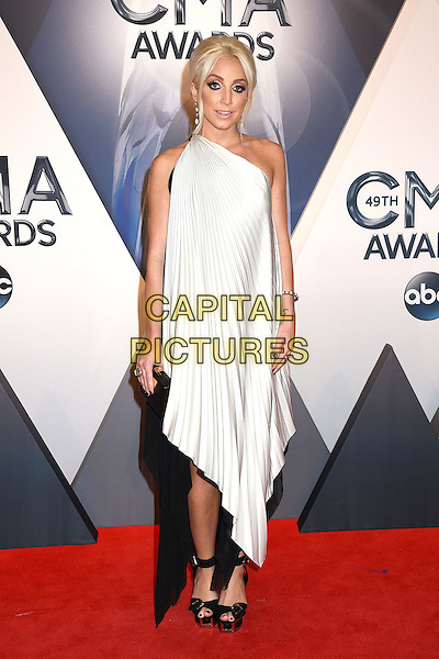 4 November 2015 - Nashville, Tennessee - Ashley Monroe. 49th CMA Awards, Country Music's Biggest Night, held at Bridgestone Arena. <br /> CAP/ADM/LF<br /> &copy;LF/ADM/Capital Pictures