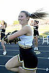 Palos Verdes, CA 11/12/10 - song & cheer in action during the Palos Verdes - Peninsula varsity football game.
