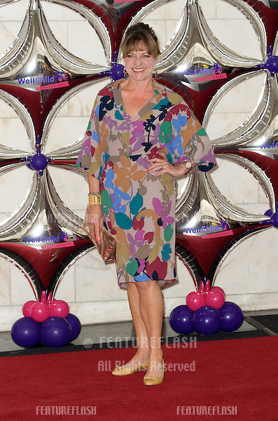 Janet Ellis arriving at the Intercontinental Hotel for the 2011 Wellchild Awards. .Park Lane  London 31/08/2011. Picture by Simon Burchell / Featureflash.