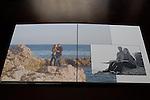Joelle Leder Photography &copy;  2012 Guest Album, Flush Mount, Leather Bound, Photo Cover, Deep Matte Pages, Engagement Photos by <br /> Joelle Leder Photography Studio &copy; 2013