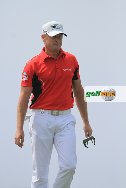 Jamie Donaldson (WAL) on the 8th on Day 2 of the 2012 Sicilian Open at Verdura Golf and Spa Resort, Sicily, Italy...(Photo Jenny Matthews/www.golffile.ie)