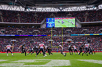 3rd November 2019; Wembley Stadium, London, England; National Football League, Houston Texans versus Jacksonville Jaguars; A packed Wembley enjoys the NFL game - Editorial Use