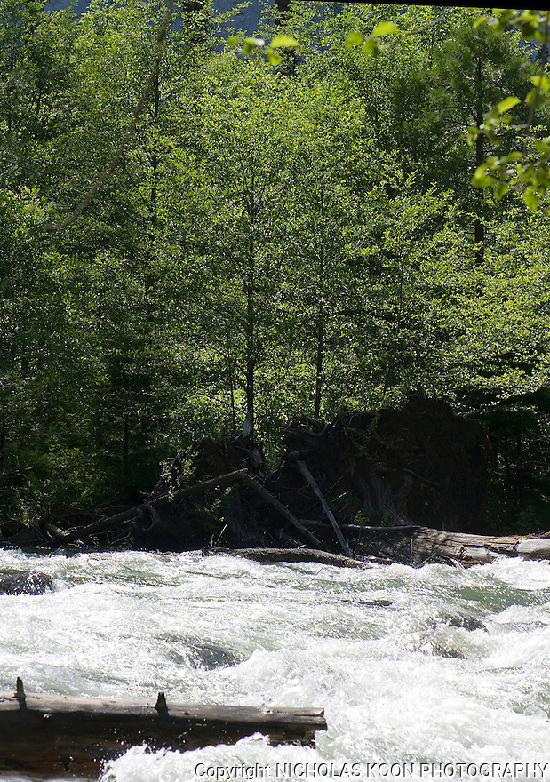 Merced River at Happy Isles, Yosemite - 2011