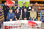 CHAMPIONSHI: Garveys Super Valu who are sponsoring the Football Championship and in Garveys Super Value Tralee members of the various teams who will be playing for the Dr Moynihan Cup were at the launch. Front l-r: Wayne Quillinan (Austin Stacks), Denny Desmond (Rathmore), Kevin McCarthy (MD Garveys) and Ken O'Sullivan (Feale Rangers). Back l-r: Aiden Daly (St Brendan's), Martin Horgan (St Kierans), John O'Leary (PRO KCB), Martin Nix (Kerins O'Rahilly's), Stephen Stack (Austin Stacks) and Noel O'Leary (Dr Crokes).