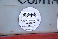 NSTS certificate