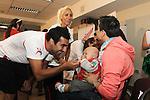 Visita Team Chile a Hospital Clinico San Borja