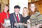 SKILLNET: Attending the Killarney Training Network, Skillnet in the Meadowlands Hotel, Tralee on Tuesday evening were l-r: Anne Nieuwenhuizen, Michael Healy Rae (Mayor of Kerry) (Speaker), Niamh O'Shea and Mary Ann McDonagh (Killarney).   Copyright Kerry's Eye 2008