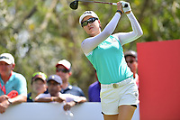 PATTAYA, THAILAND - FEBRUARY 22: Minjee Lee of Australia on the 17th tee during the second round of the Honda LPGA Thailand 2019 at Siam Country Club Pattaya (Old Course), Pattaya, Thailand on February 22, 2019.<br /> .<br /> .<br /> .<br /> (Photo by: Naratip Golf Srisupab/SEALs Sports Images)<br /> .<br /> Any image use must include a mandatory credit line adjacent to the content which should read: Naratip Golf Srisupab/SEALs Sports Images