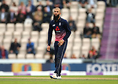 29th September 2017, Ageas Bowl, Southampton, England; One Day International Series, England versus West Indies; Moeen Ali of England in bowling action