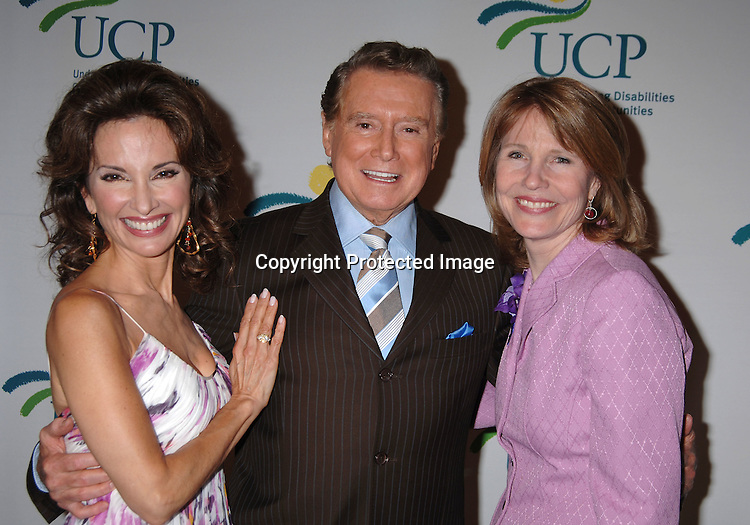 Susan Lucci , Regis Philbin. Donna Hanover ..at The 5th Annual Women Who Care Luncheon benefitting ..United Cerebral Palsy of New York City on May 4, 2006 ..at Cipriani 42nd Street...Robin Platzer, Twin Images