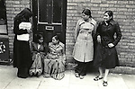 "Grunwick Strike North London UK. 1977. Women on left is holding a ""Grunwick Strike Committee APEX"" leaflet.<br />