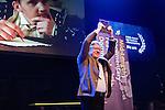 Amsterdam, 25 november 2015<br /> International Documentary Film Festival 2015<br /> IDFA 2015<br /> Award ceremony:<br /> Jerzy Sladkowski won the VPRO IDFA Award for Best Feature-Length Documentary (&euro;12,500) for Don Juan (Sweden/Finland)-Photo by Felix Kalkman