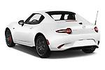 Car pictures of rear three quarter view of 2017 Mazda MX-5-RF Club 2 Door Targa Angular Rear