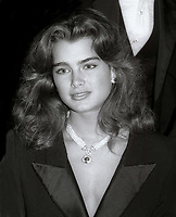 Brooke Shields 1984<br /> Photo By Jesse Nash/PHOTOlink