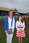Enjoying Ladies Day at the Listowel Races on Friday were: Kathleen Raymond O'Regan and Tara O'Regan