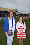 Enjoying Ladies Day at the Listowel Races on Friday were: Kathleen Raymond O'Regan and Tara O'Regan