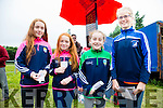 Lucky Ladies at the Cahersiveen Races on Sunday pictured l-r; Chloe & Ella Sheehan with Clara Daly & Emma Quigley.