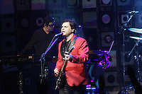 FOTO EMBARGADA PARA VEICULOS INTERNACIONAIS - SAO PAULO, SP, 09 DE DEZEMBRO 2012 - SHOW BARAO VERMELHO SP  - A Banda Barao Vermelho faz show comemorativo em SP dos 30 anos do lancamento do primeiro disco, na noite desse sabado, 09, na Casa de Show Credicad Hall, zona sul da capital  -  FOTO: LOLA OLIVEIRA/BRAZIL PHOTO PRESS