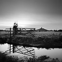Burrowbridge Mump, Somerset, England, UK