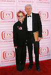 UNIVERSAL CITY, CA. - April 19: Shelley Fabares and Mike Farrell arrive at the 2009 TV Land Awards at the Gibson Amphitheatre on April 19, 2009 in Universal City, California.
