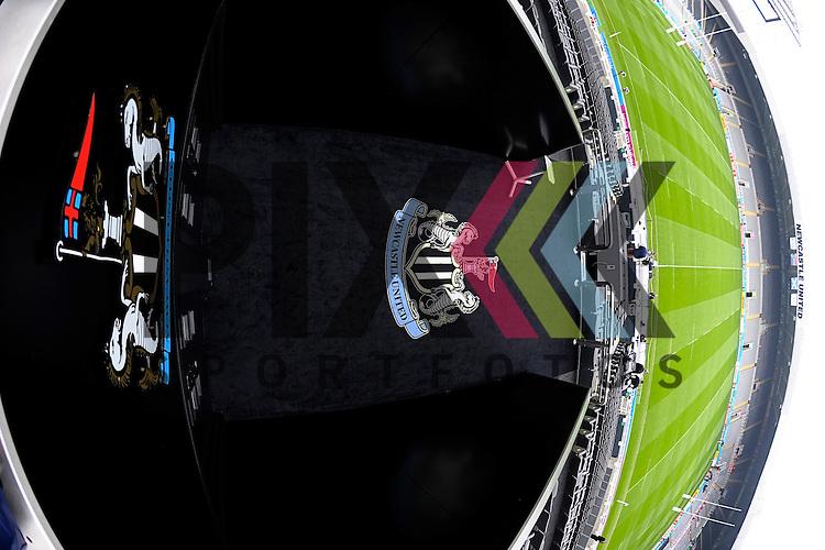 ENG - Newcastle upon Tyne, England, October 03: General view of St. James Park before the Pool B rugby match between South Africa and Scotland on October 3, 2015 at St. James Park in Newcastle upon Tyne, England. <br /> <br /> Foto &copy; PIX-Sportfotos *** Foto ist honorarpflichtig! *** Auf Anfrage in hoeherer Qualitaet/Aufloesung. Belegexemplar erbeten. Veroeffentlichung ausschliesslich fuer journalistisch-publizistische Zwecke. For editorial use only.
