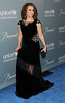 Alyssa Milano arriving at THE 2014 UNICEF Ball Presented By Baccarat, held at the Beverly Wilshire Hotel on January 14, 2014