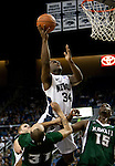 January 14, 2012:   Nevada Wolf Pack guard Malik Story shoots against the Hawai'i Rainbow Warriorsn during their NCAA basketball game played at Lawlor Events Center on Saturday night in Reno, Nevada.