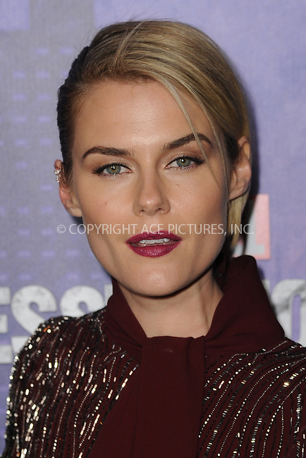 www.acepixs.com<br /> March 7, 2018  New York City<br /> <br /> Rachael Taylor attending attending Marvel's 'Jessica Jones' season 2 TV show premiere on March 7, 2018 in New York City.<br /> <br /> Credit: Kristin Callahan/ACE Pictures<br /> <br /> <br /> Tel: 646 769 0430<br /> Email: info@acepixs.com
