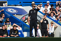 Liverpool manager Jurgen Klopp looks on <br /> <br /> Photographer Craig Mercer/CameraSport<br /> <br /> The Premier League - Chelsea v Liverpool - Sunday 6th May 2018 - Stamford Bridge - London<br /> <br /> World Copyright &copy; 2018 CameraSport. All rights reserved. 43 Linden Ave. Countesthorpe. Leicester. England. LE8 5PG - Tel: +44 (0) 116 277 4147 - admin@camerasport.com - www.camerasport.com