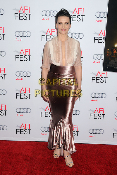 9 November 2015 - Los Angeles, California - Juliette Binoche. AFI FEST 2015 - &quot;The 33&quot; Premiere held at the TCL Chinese Theatre. <br /> CAP/ADM/BP<br /> &copy;BP/ADM/Capital Pictures