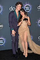 LOS ANGELES, USA. November 25, 2019: Shawn Mendes & Camila Cabello at the 2019 American Music Awards at the Microsoft Theatre LA Live.<br /> Picture: Paul Smith/Featureflash