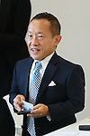 Hiroshi Imanaka, SEPTEMBER 29, 2015 : The first meeting of the Tokyo 2020 Emblems Selection Committee is held in Tokyo, Japan. This committee initiated the selection of the new Olympic and Paralympic Games emblems. (Photo by Yohei Osada/AFLO SPORT)