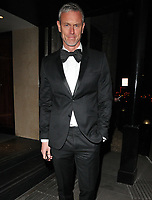 Mark Foster at the Broadcast Awards 2018, Grosvenor House Hotel, Park Lane, London, England, UK, on Wednesday 07 February 2018.<br /> <br /> CAP/CAN<br /> &copy;CAN/Capital Pictures