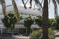 Asie/Israel/Tel-Aviv-Jaffa: Hotel Cinéma place Dizengoff - Architecture Bauhaus
