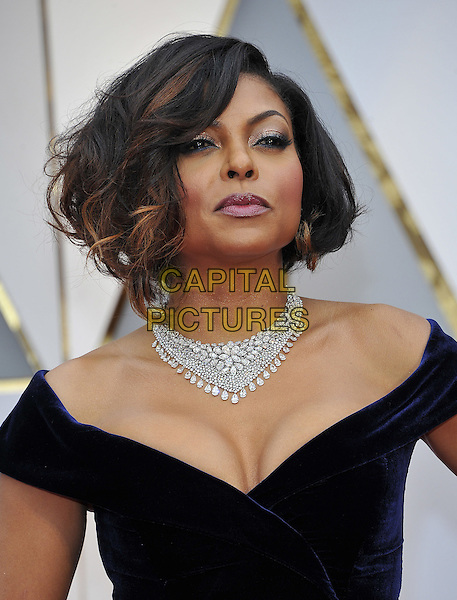 HOLLYWOOD - FEBRUARY 26: Taraji P. Henson attends the 89th Annual Academy Awards at the Dolby Theatre on February 26, 2017 in Hollywood, California. <br /> CAP/MPI99<br /> &copy;MPI99/Capital Pictures