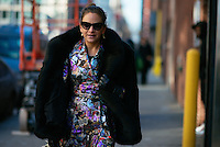 Laure Heriard Dubreuil attends Day 4 of New York Fashion Week on Feb 15, 2015 (Photo by Hunter Abrams/Guest of a Guest)