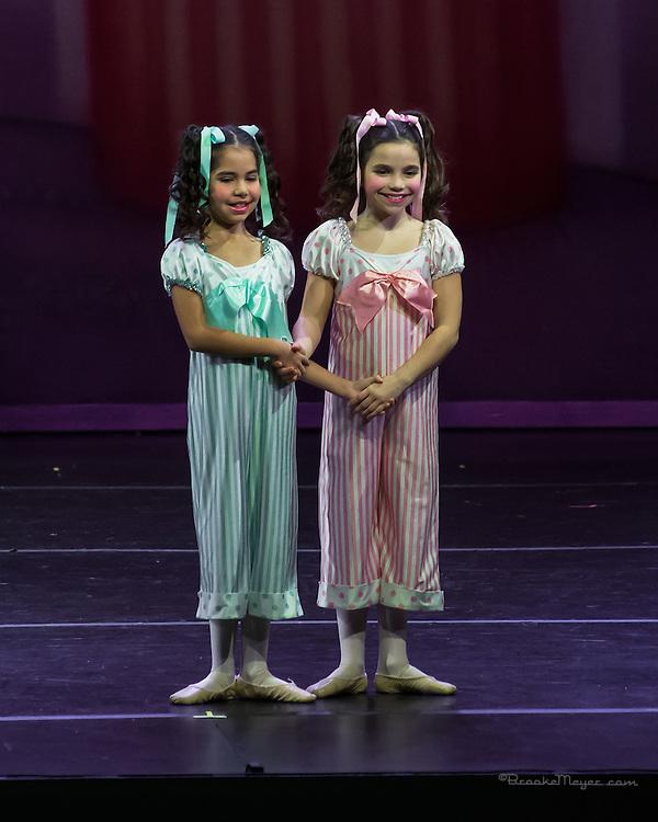 "Cary Ballet Company, ""Visions of Sugarplums"", Dress Rehearsal. Thurs., 17 Dec. 2015, Cary Arts Center, Cary, North Carolina. ."