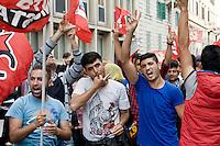 Roma 4  Giugno 2013<br /> Diverse centinaia di persone, anche i cittadini curdi, hanno partecipato ad una manifestazione di protesta davanti all 'ambasciata turca in solidariet&agrave; con i manifestanti in Turchia e per chiedere le dimissioni del leader turco Erdogan. lKurdi contro la repressione in Turchia<br /> Several hundred people, also Kurdish citizens, participated in a protest in front of the 'Turkish Embassy  in solidarity with protesters in Turkey and to demand the resignation of Turkish leader Erdogan.