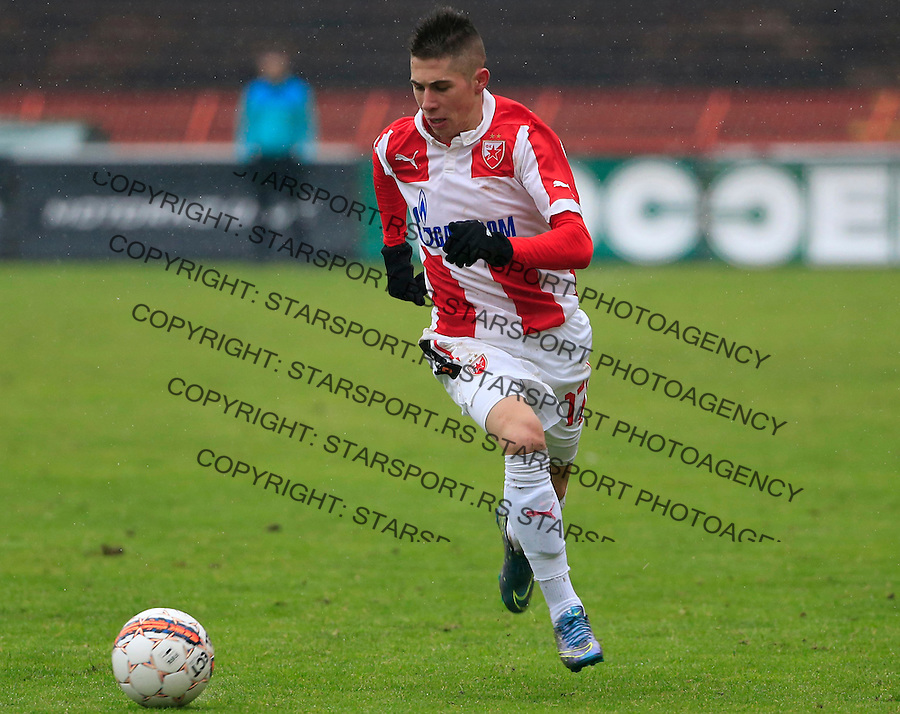 Fudbal Jelen Super League season 2015-2016<br /> Crvena Zvezda v Vozdovac<br /> Srdjan Plavsic<br /> Beograd, 28.11.2015.<br /> foto: Srdjan Stevanovic/Starsportphoto&copy;