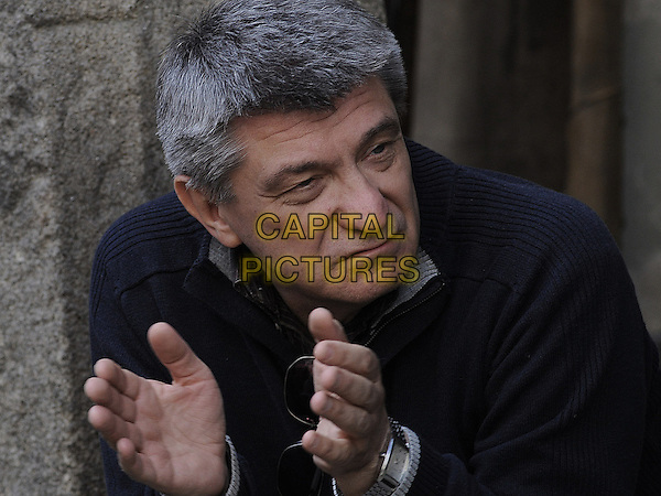 Aleksandr Sokurov (Director)<br /> on the set of Faust (2011) <br /> *Filmstill - Editorial Use Only*<br /> CAP/FB<br /> Image supplied by Capital Pictures