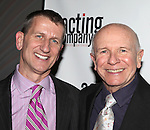 Terrence McNally & Tom Kirdahy.attending the After Party for  'Angela Lansbury and Friends Salute Terrence McNally' - A Benefit for the Acting Company in New York City.