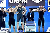 Team ITALY ITA <br /> PANZIERA Margherita, MUSSO Erica , PELLEGRINI Federica , <br /> QUADARELLA Simona <br /> Women's 4x200m Freestyle Relay <br /> Hangh Zhou 15/12/2018 <br /> Hang Zhou Olympic & International Expo Center <br /> 14th Fina World Swimming Championships 25m <br /> Photo Andrea Staccioli/ Deepbluemedia /Insidefoto