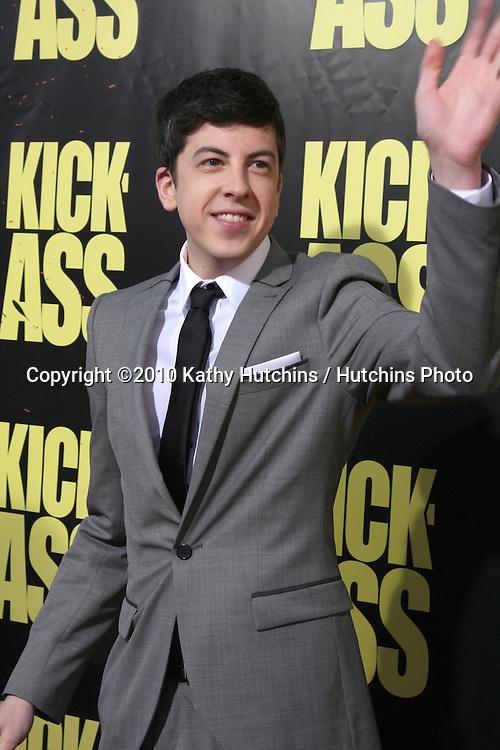 "Christopher Mintz-Plasse..arrives at  the ""Kick-Ass"" Premiere.ArcLight Dome Theater.Los Angeles, CA.April 13, 2010.©2010 Kathy Hutchins / Hutchins Photo..."