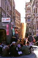 Yemen, people in Sana'a